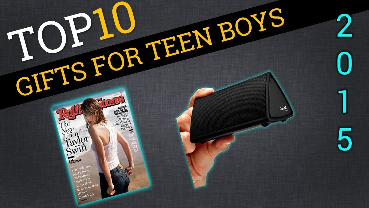 10 Fashionable Cool Gift Ideas For Teenage Guys top ten gifts for teen boys 2015 best teenage boy gifts youtube 2 2021