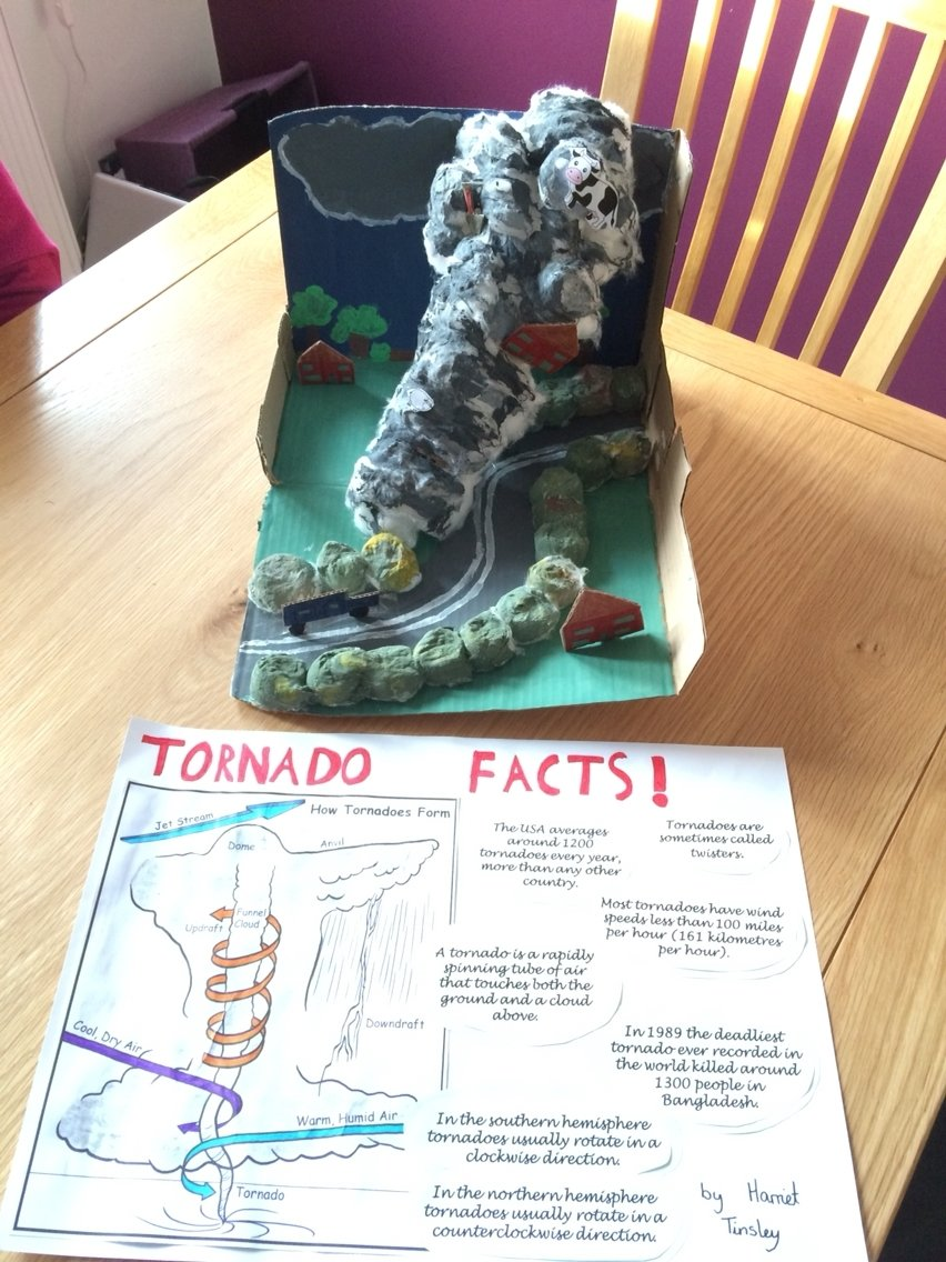 10 Lovable How To Project Ideas For School tornado school project year 4 theme weather pinterest