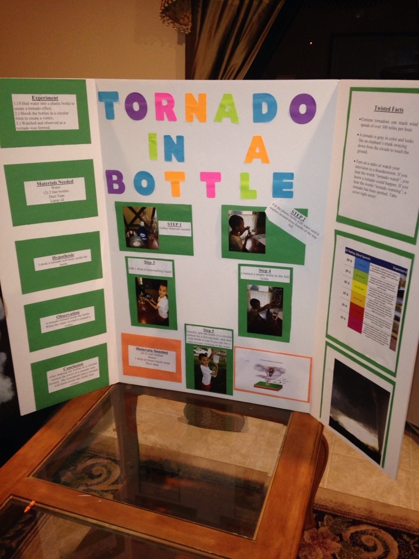 10 Stunning 2Nd Grade Science Fair Ideas tornado science fair project 2nd grade mccades board pinterest 4 2020