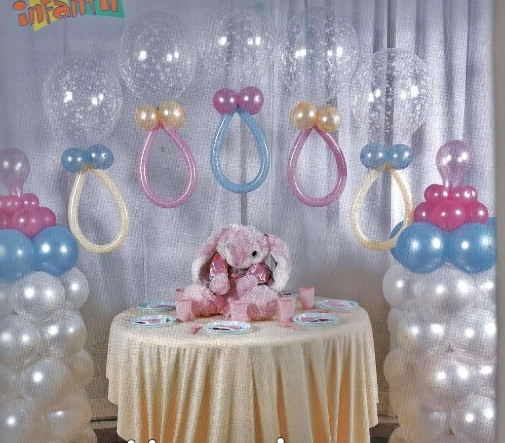 10 Trendy Ideas Para Decorar Baby Shower torres de globos decoracion para baby shower babies detail and 1 2020
