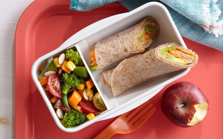 10 Beautiful Healthy Brown Bag Lunch Ideas tortilla roll ups 1 2021