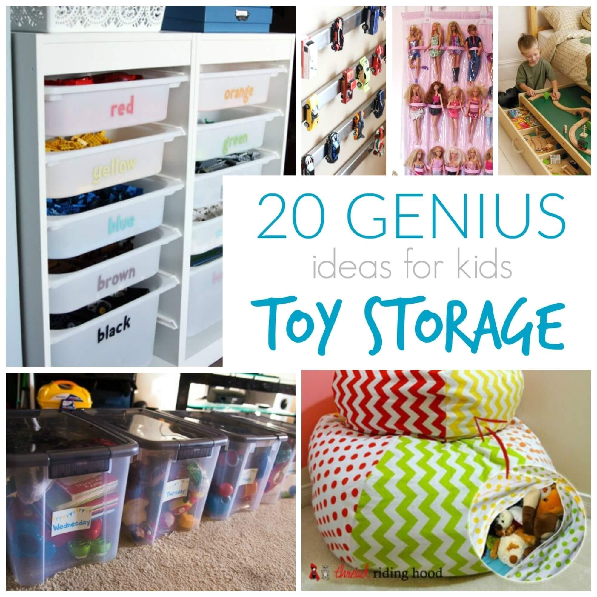 10 Gorgeous Storage Ideas For Kids Room toy storage ideas diy plans in a small space that your kids will 2020