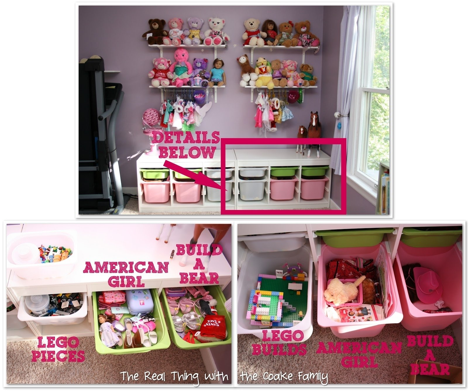 10 Spectacular American Girl Doll Storage Ideas toy storage kids playroom reorganization the real thing with the 2020