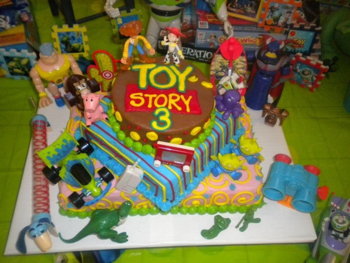 10 Spectacular Toy Story Birthday Party Ideas toy story cake google search birthdays pinterest 2021