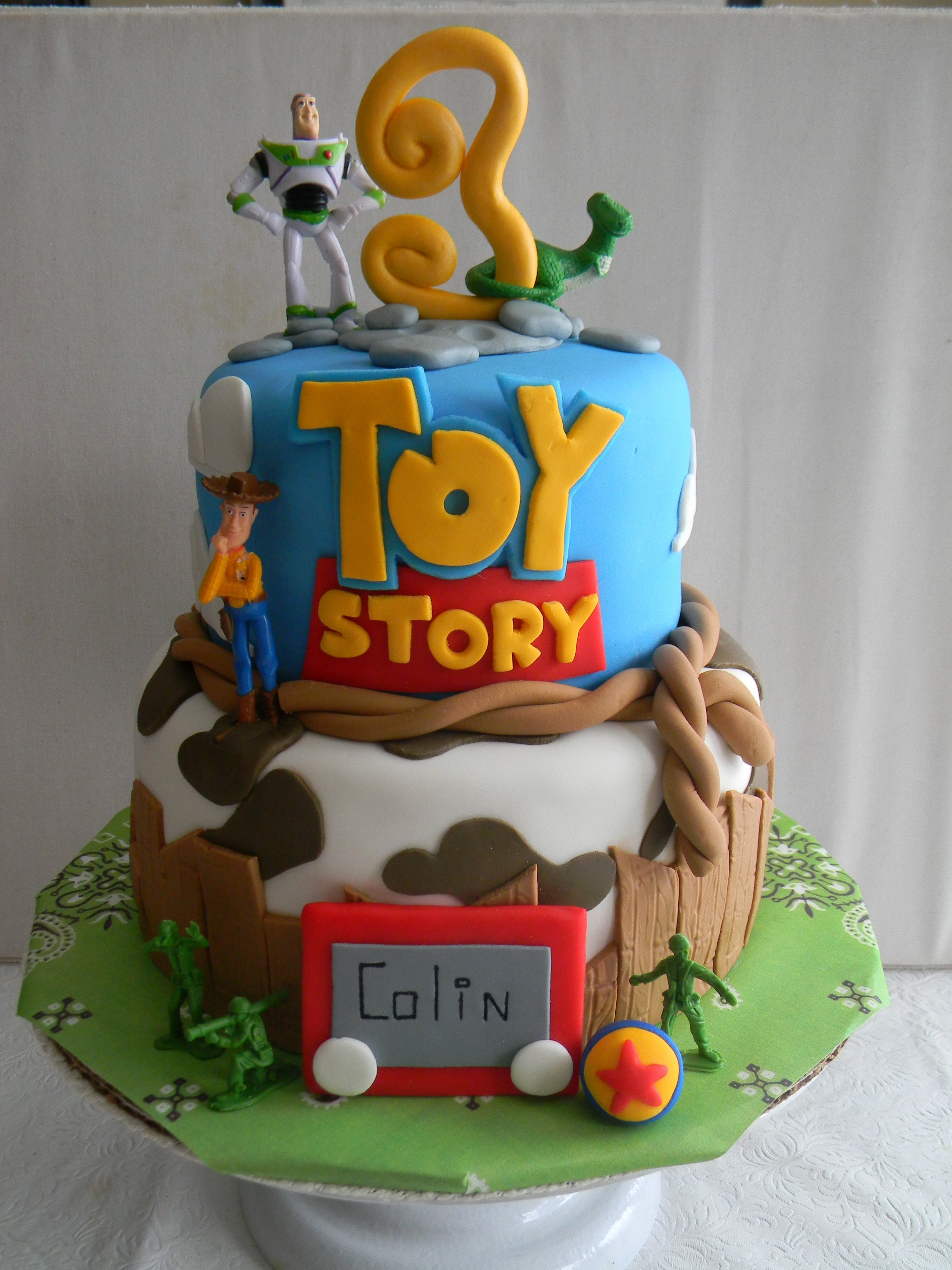 10 Spectacular Toy Story Birthday Cake Ideas toy story themed birthday cake becca lulu cakes pinterest