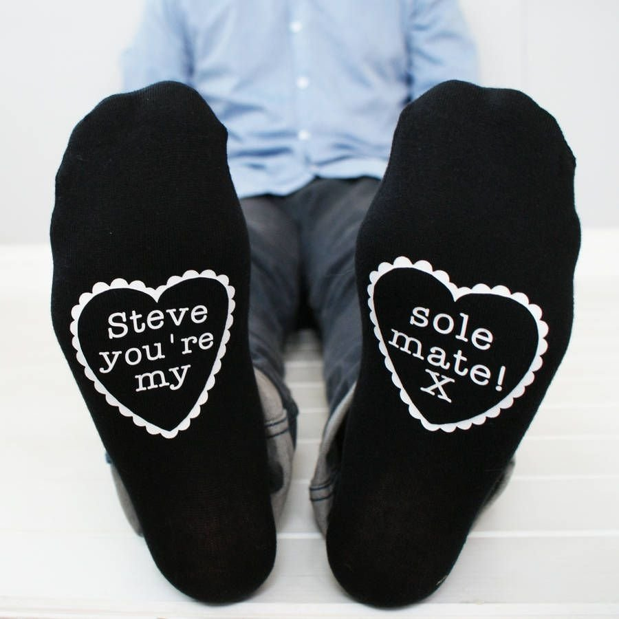 10 Fantastic 2Nd Year Anniversary Gift Ideas For Him traditional 2nd wedding anniversary gifts for him cotton socks 1