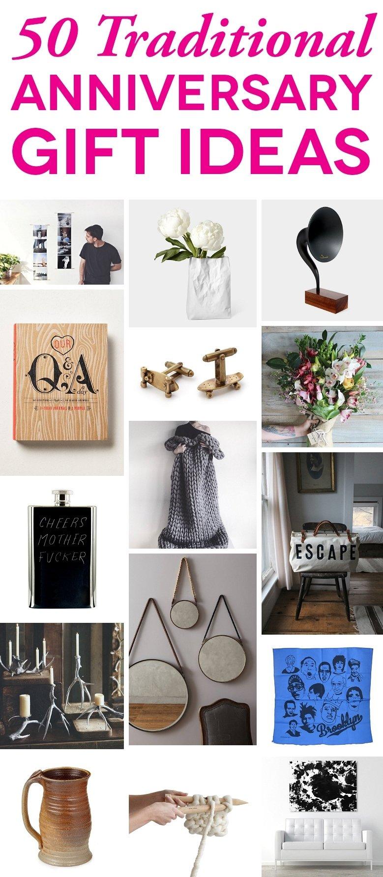 10 Stylish 3rd Wedding Anniversary Gift Ideas For Him