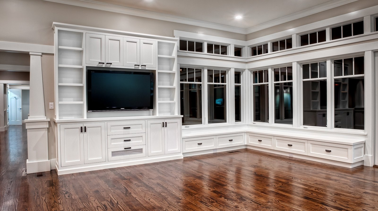 10 Awesome Built In Entertainment Center Ideas traditional entertainment center custom cabinets houston cabinet