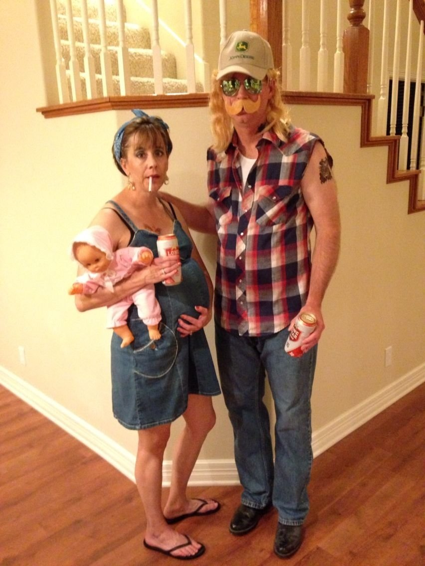 10 Famous White Trash Halloween Costume Ideas trailer trash couple couples halloween costumes pinterest 2020