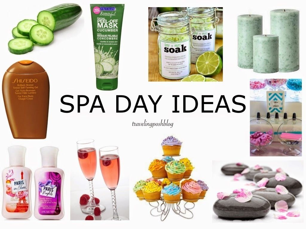 traveling posh: 10 ideas for a relaxing spa day at home | decor