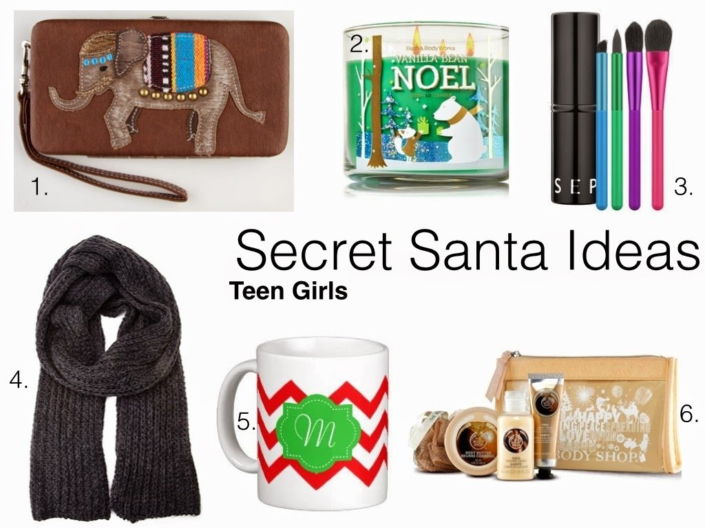 10 Trendy Good Secret Santa Gift Ideas traveling posh secret santa gift ideas teen girls 1 2020