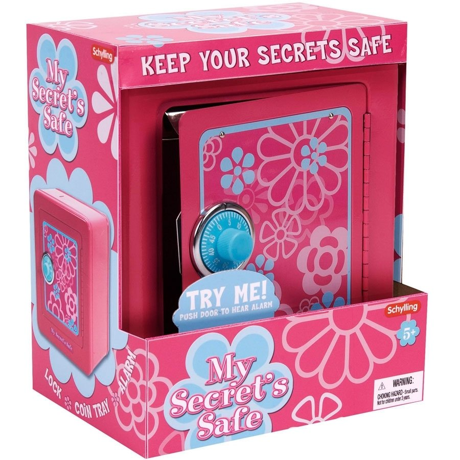 treasure keeper steel safe - pink
