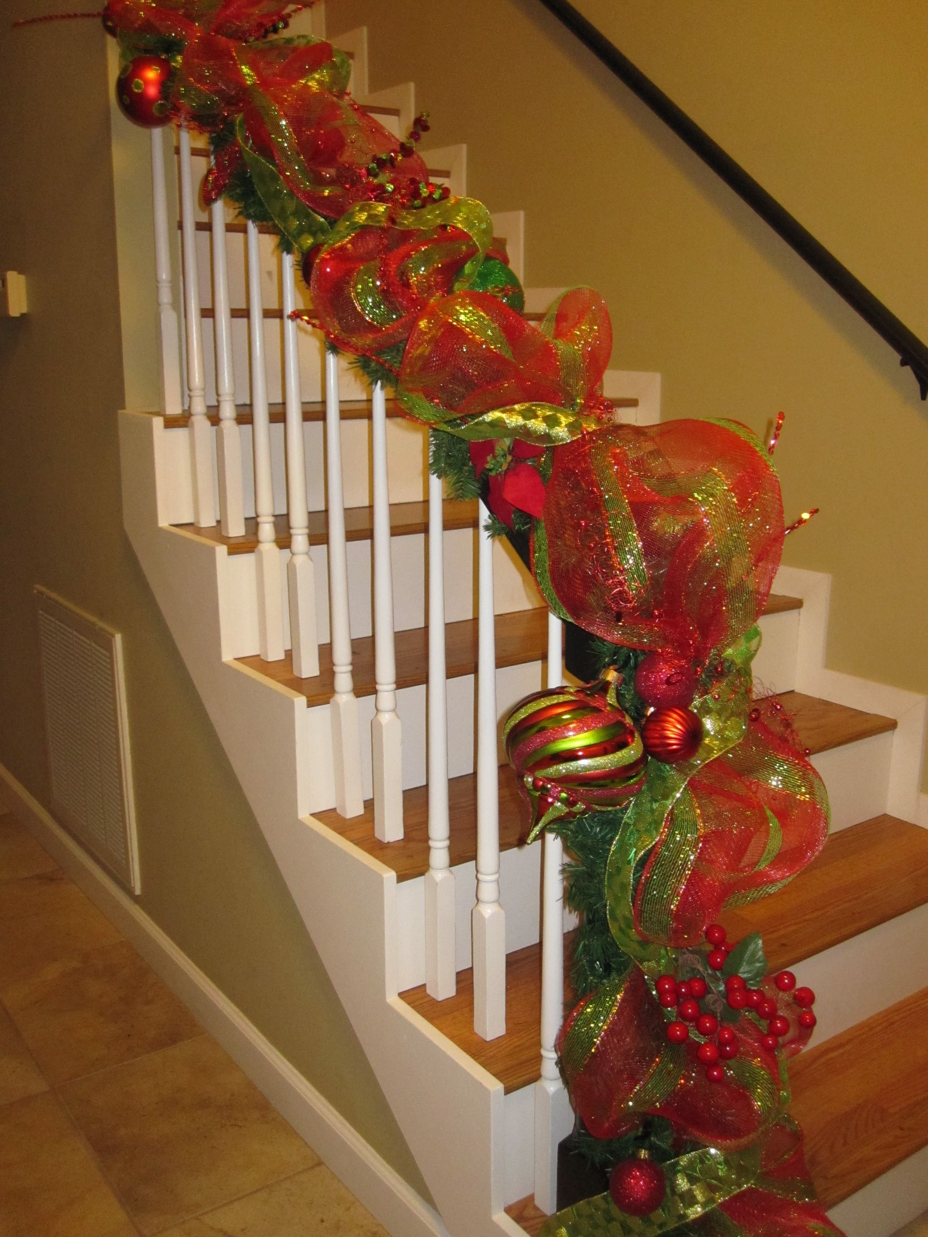 10 Fabulous Decorating With Mesh Ribbon Ideas trees decorated deco mesh garland oh what fun blog creating 2021