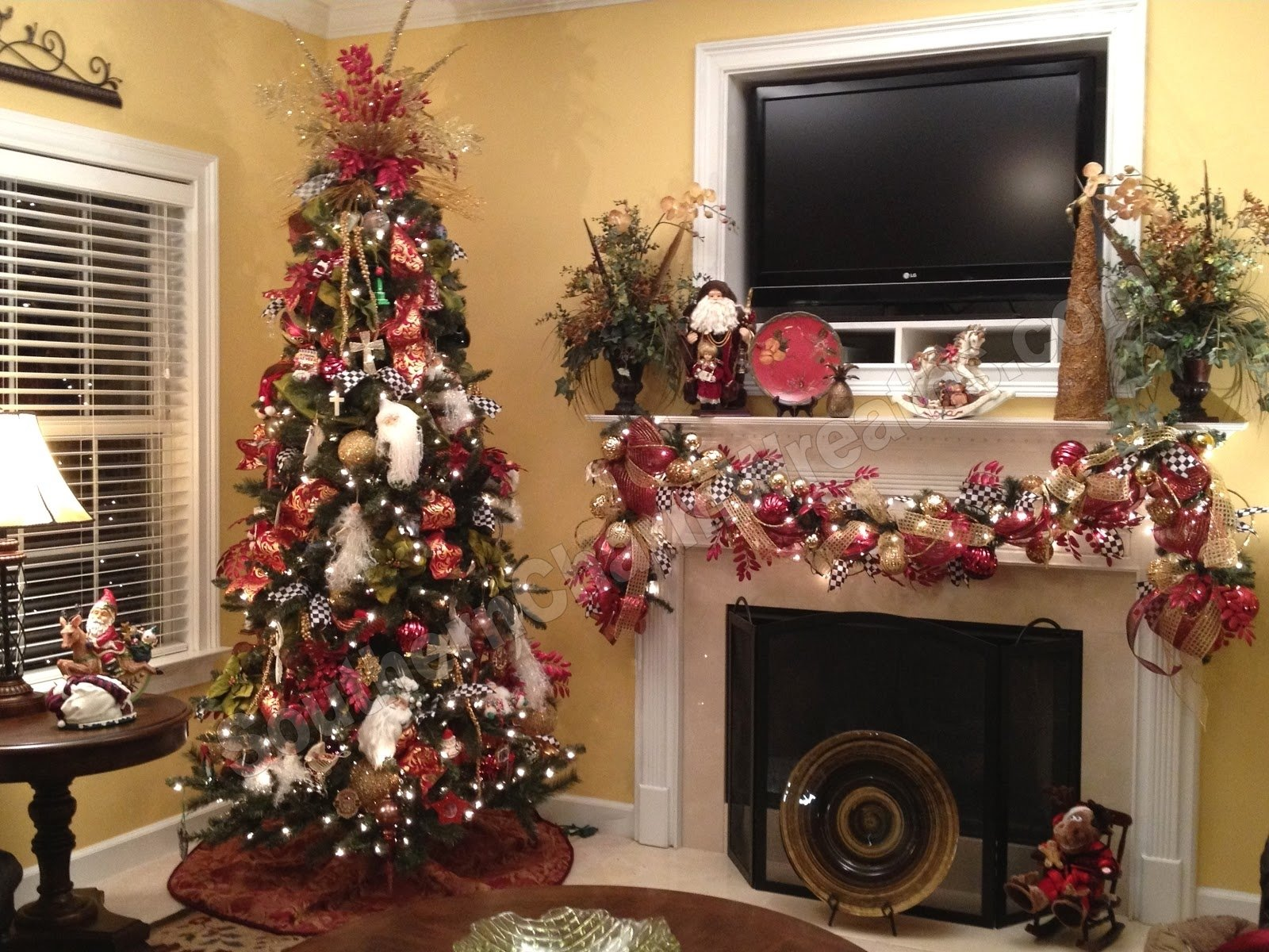 10 Fabulous Decorating With Mesh Ribbon Ideas trees decorated ribbon christmas house decorations ideas home dma 2021