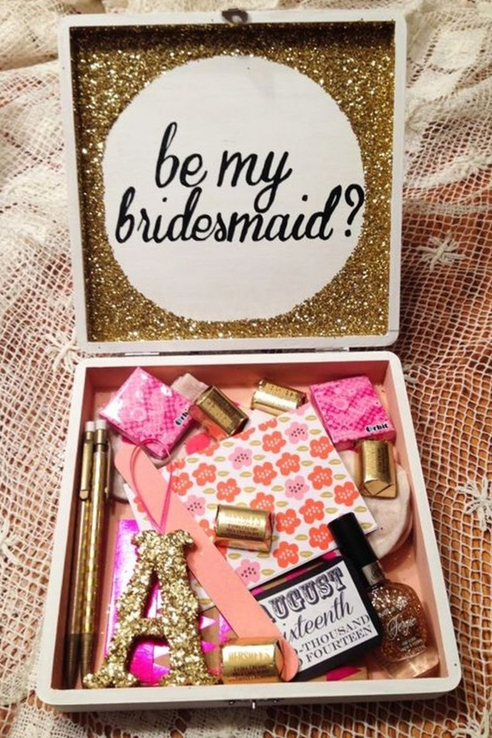 10 Great Will You Be My Bridesmaid Ideas trending unique will you be my bridesmaid gift ideas 1 2021
