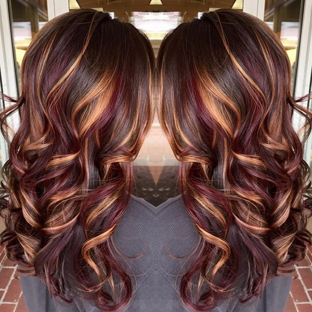 10 Gorgeous Hair Colors With Highlights Ideas trendy hair color with highlights 25 trending fall hair highlights 2020