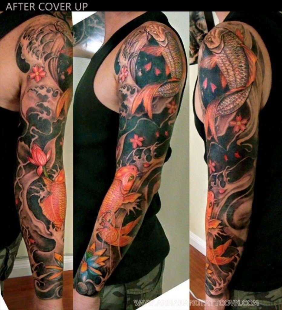 10 Attractive Arm Tattoo Cover Up Ideas tribal arm cover up tattoos arm tattoo cover up ideas 34 tribal 2 2020