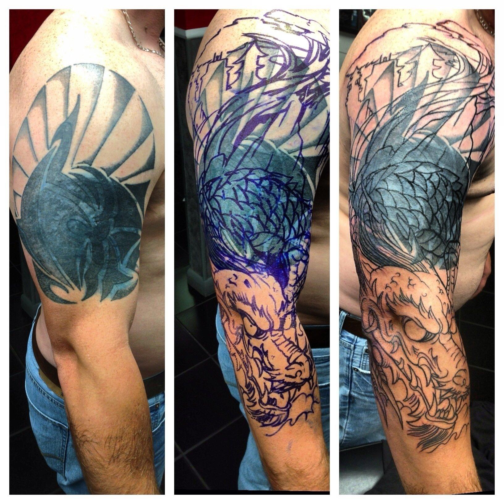 10 Stylish Tribal Tattoo Cover Up Ideas tribal dragon tattoo designs tattoo ideas pictures tattoo ideas 1 2020