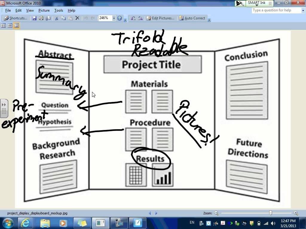10 Perfect Tri Fold Poster Board Ideas trifold board tutorial youtube 2020