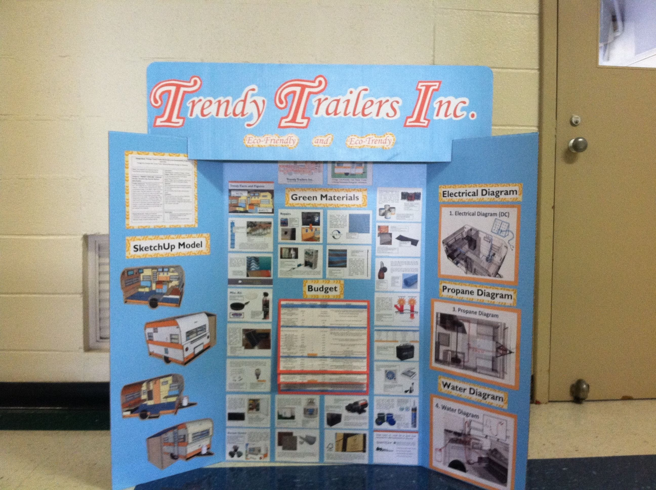 trifold poster board ideas - google search a way to keep the board