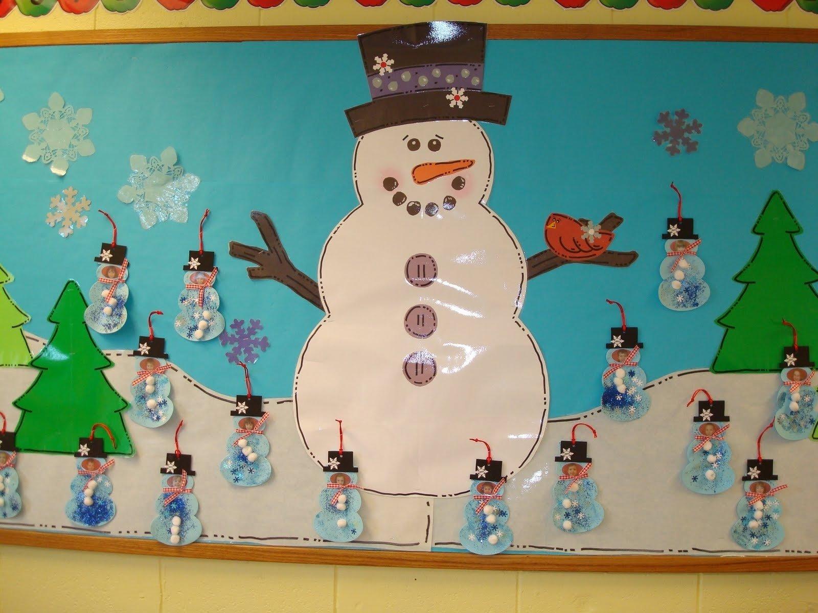 10 Wonderful Preschool Christmas Bulletin Board Ideas trinity preschool mount prospect snowman and christmas bulletin 2020
