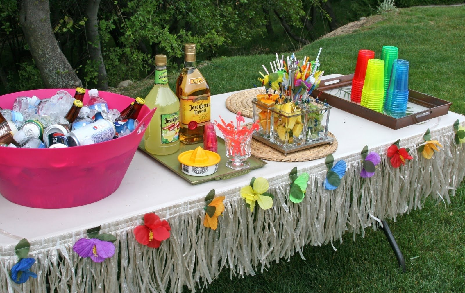 10 Attractive Ideas For A Luau Party tropical party kays makehauk co 2020