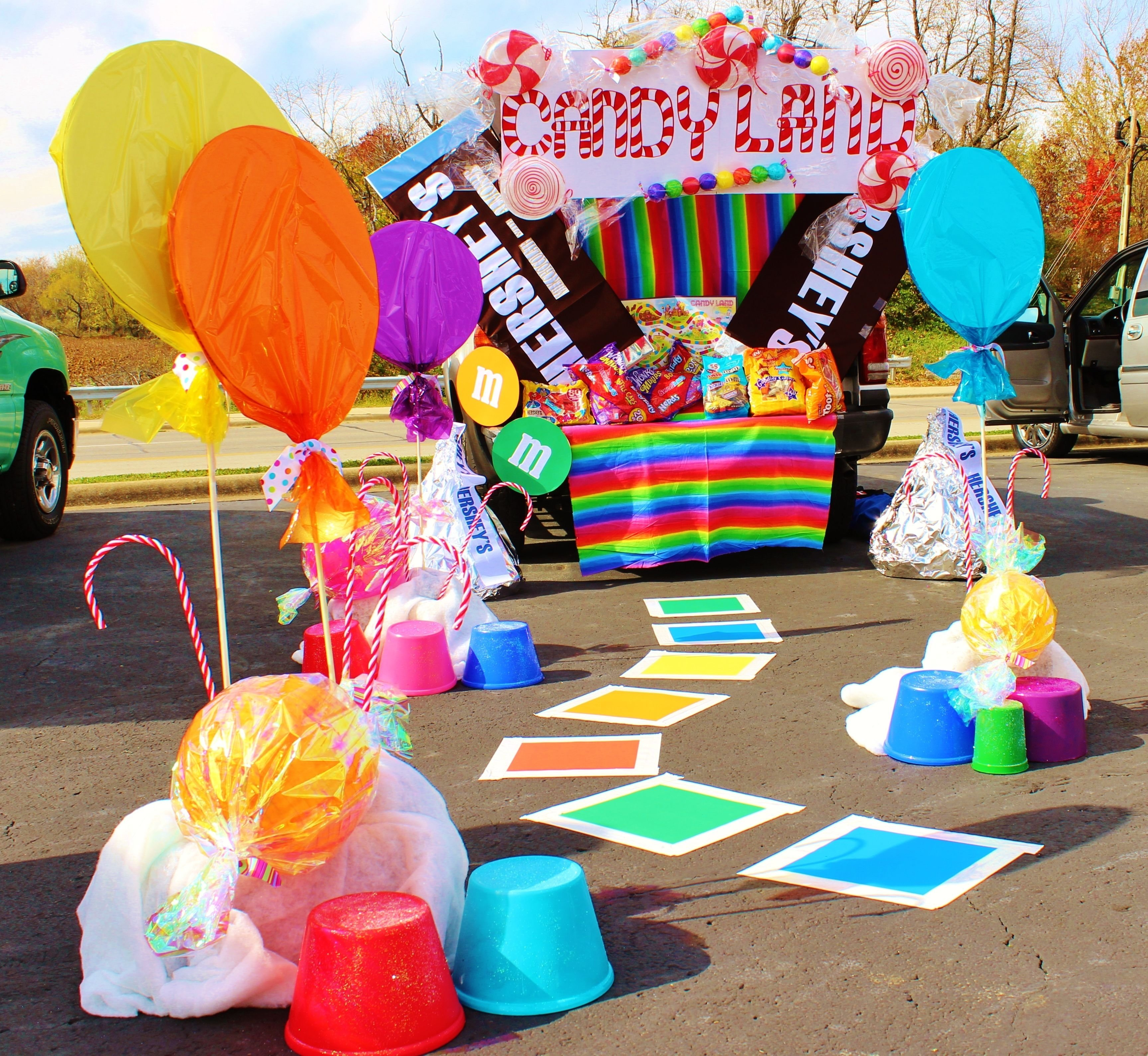 10 Cute Trunk And Treat Ideas For Decorating trunk or treat decorating ideas deco bonbon bonbon et halloween 1 2020