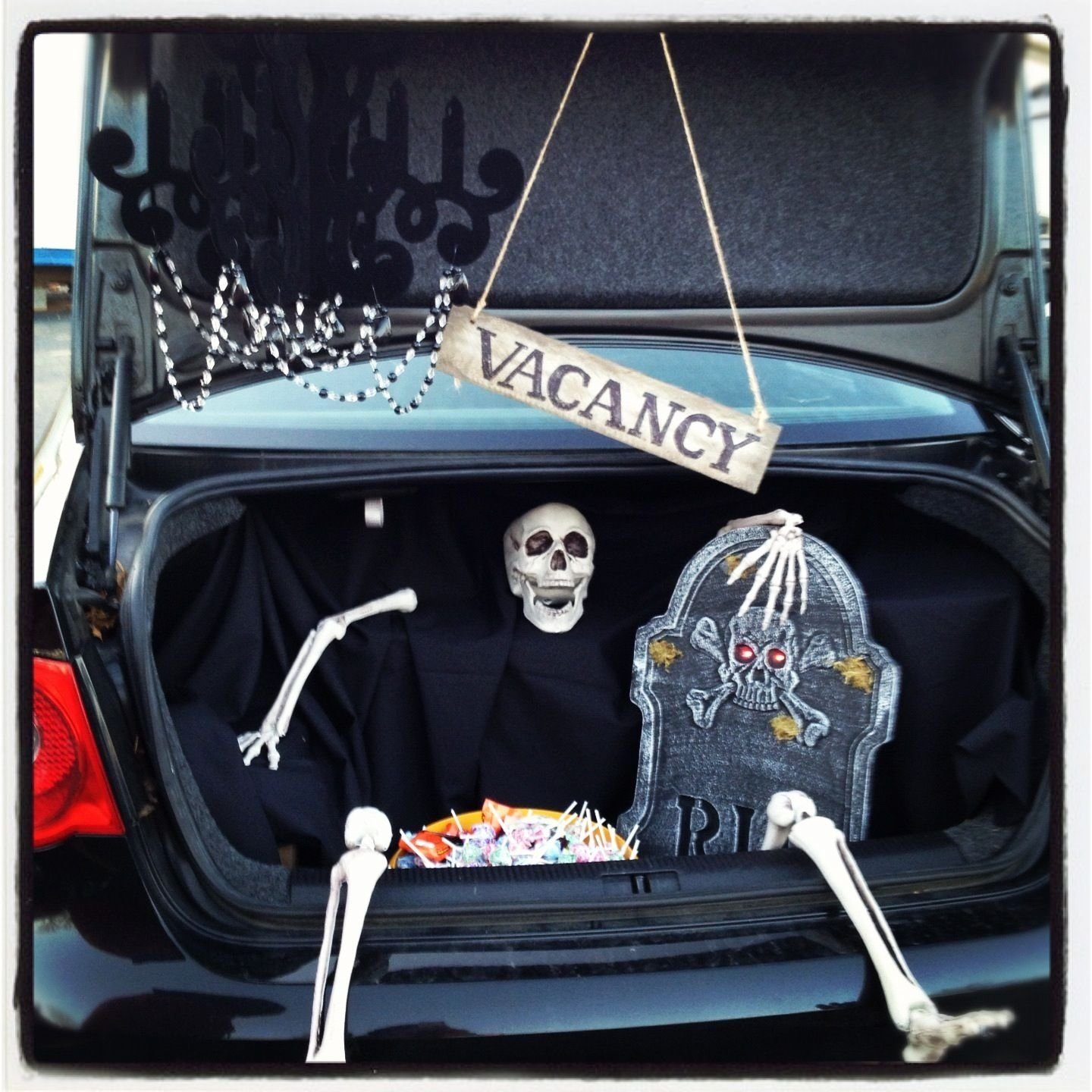 10 Beautiful Trick Or Trunk Decorating Ideas trunk or treat graveyard diy pinterest graveyards holidays 1 2020