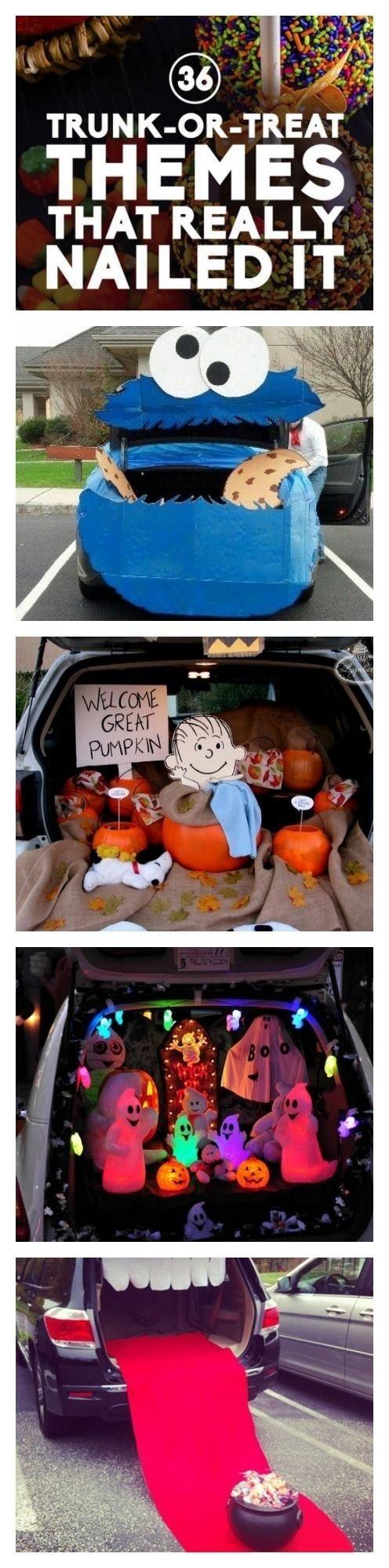 10 Attractive Halloween Trick Or Treat Ideas trunk or treat ideas holidays halloween ideas and holidays halloween 2021