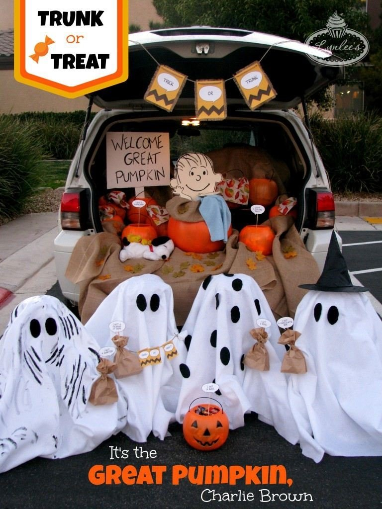 10 Attractive Halloween Trick Or Treat Ideas trunk or treat ideas 2021