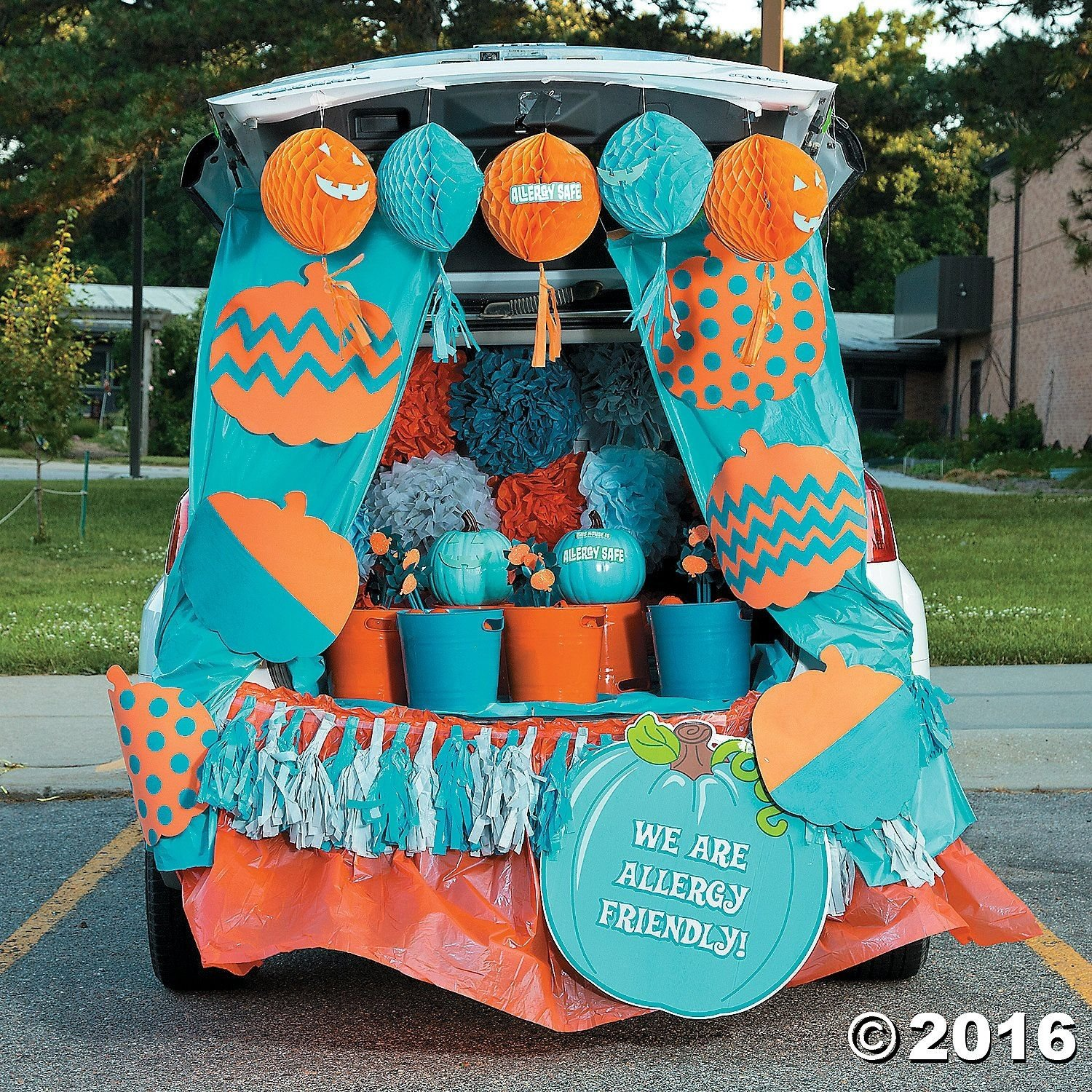 10 Cute Trunk And Treat Ideas For Decorating trunk or treat teal pumpkin d trunk or treat pinterest teal 1 2020
