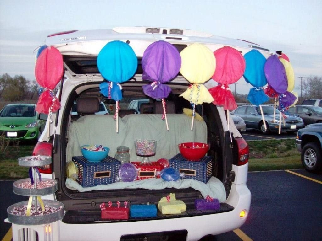10 Beautiful Trunk Or Treat Ideas For Decorating Car trunk treat decorating ideas trunk or treat & 10 Beautiful Trunk Or Treat Ideas For Decorating Car