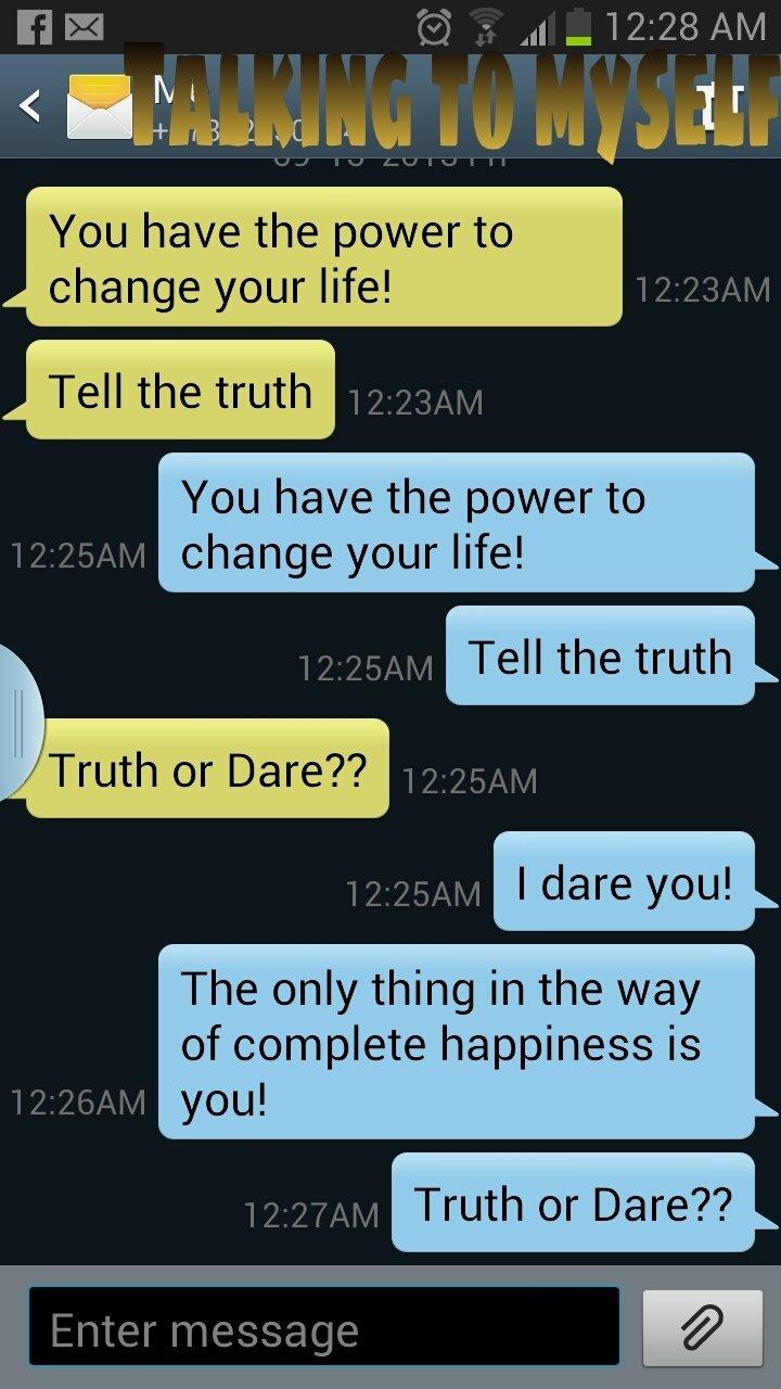 truth or dare – dancing in the rain!