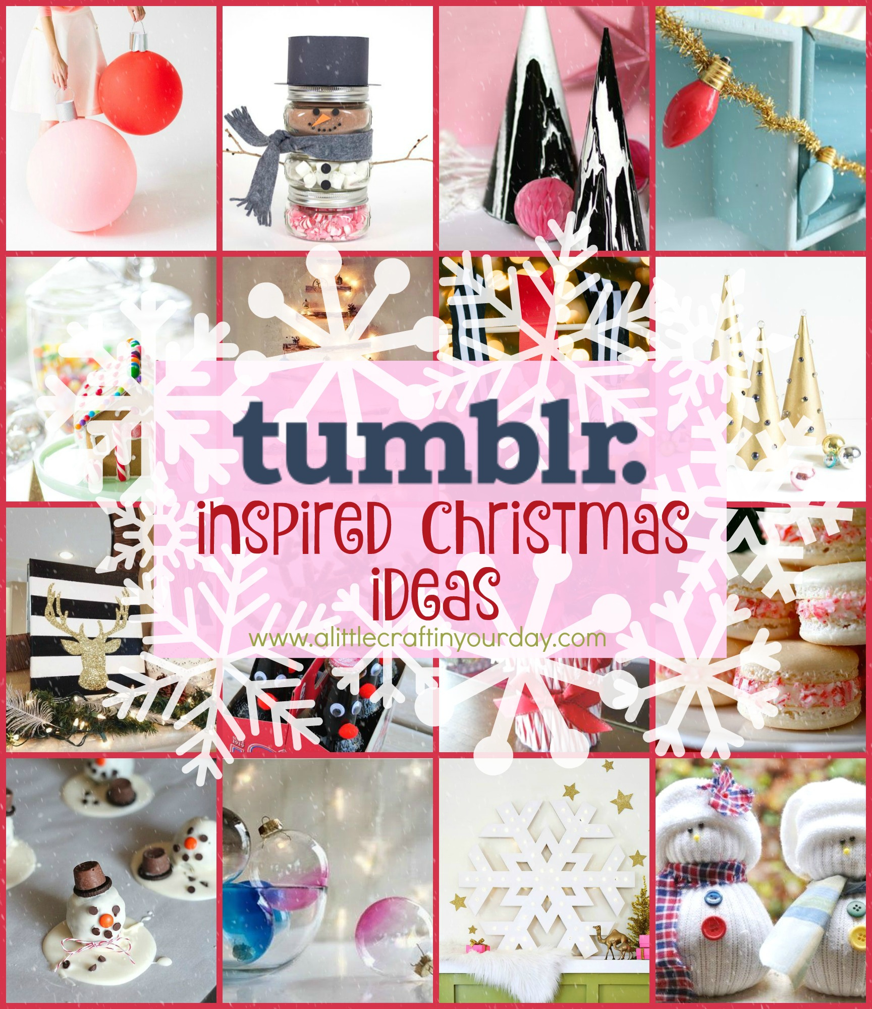 10 Best Christmas Craft Ideas On Pinterest tumblr inspired diy christmas a little craft in your day 2020