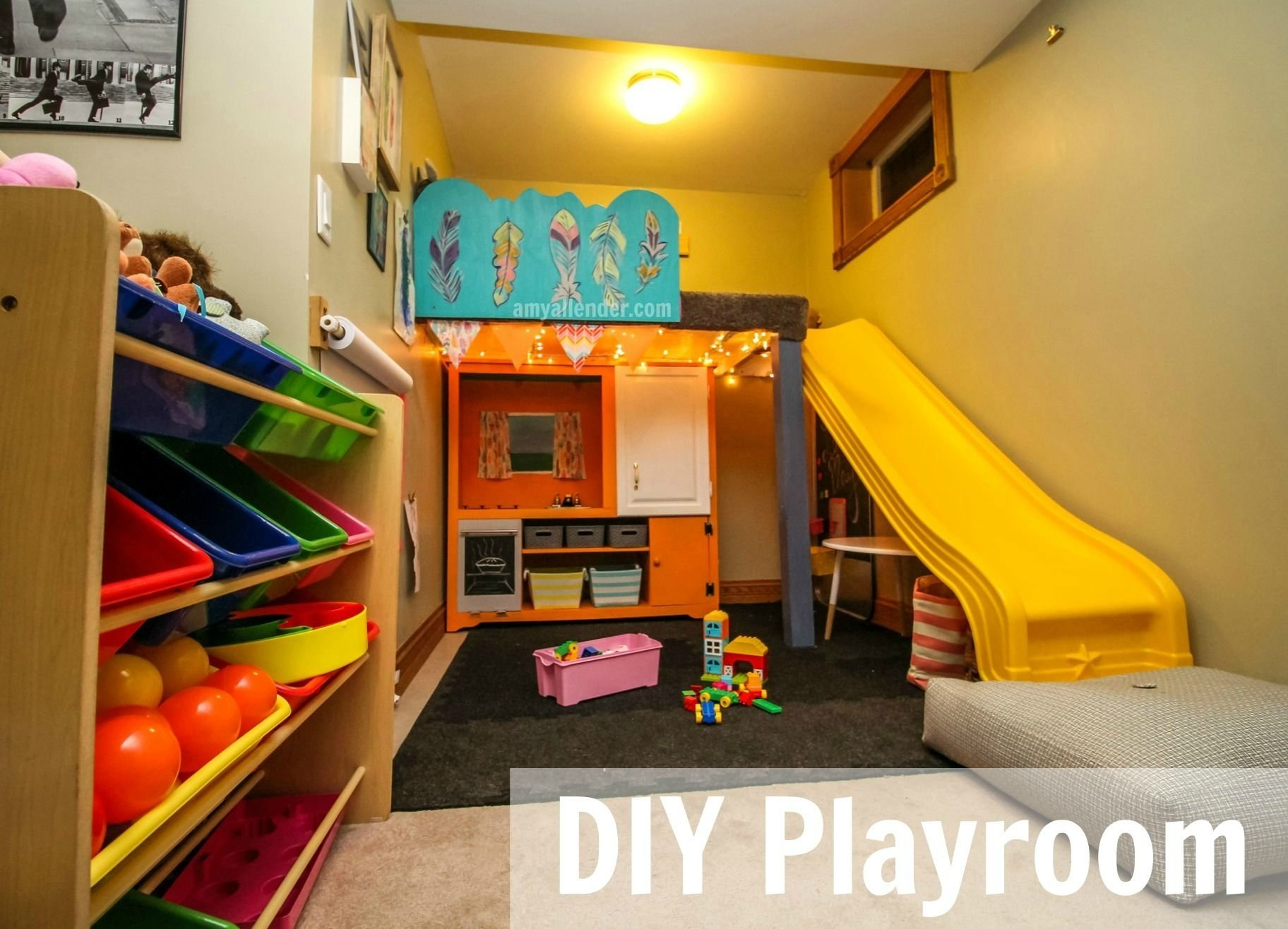 10 Nice Playroom Ideas For Small Spaces turn a small space into a fun organized playroom with these budget 2020
