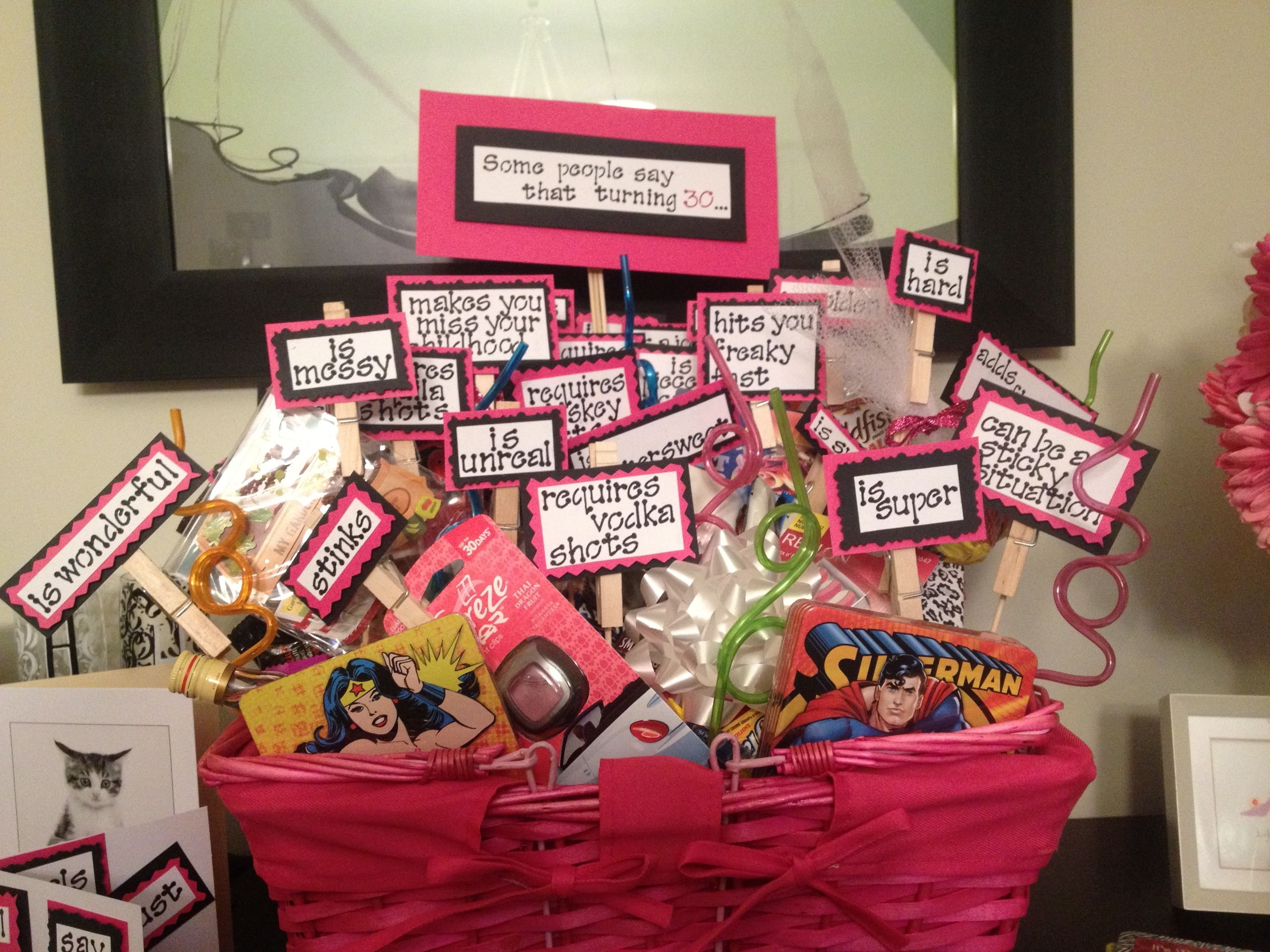 10 Unique 30Th Birthday Gift Ideas For Her Turning 30 Basket