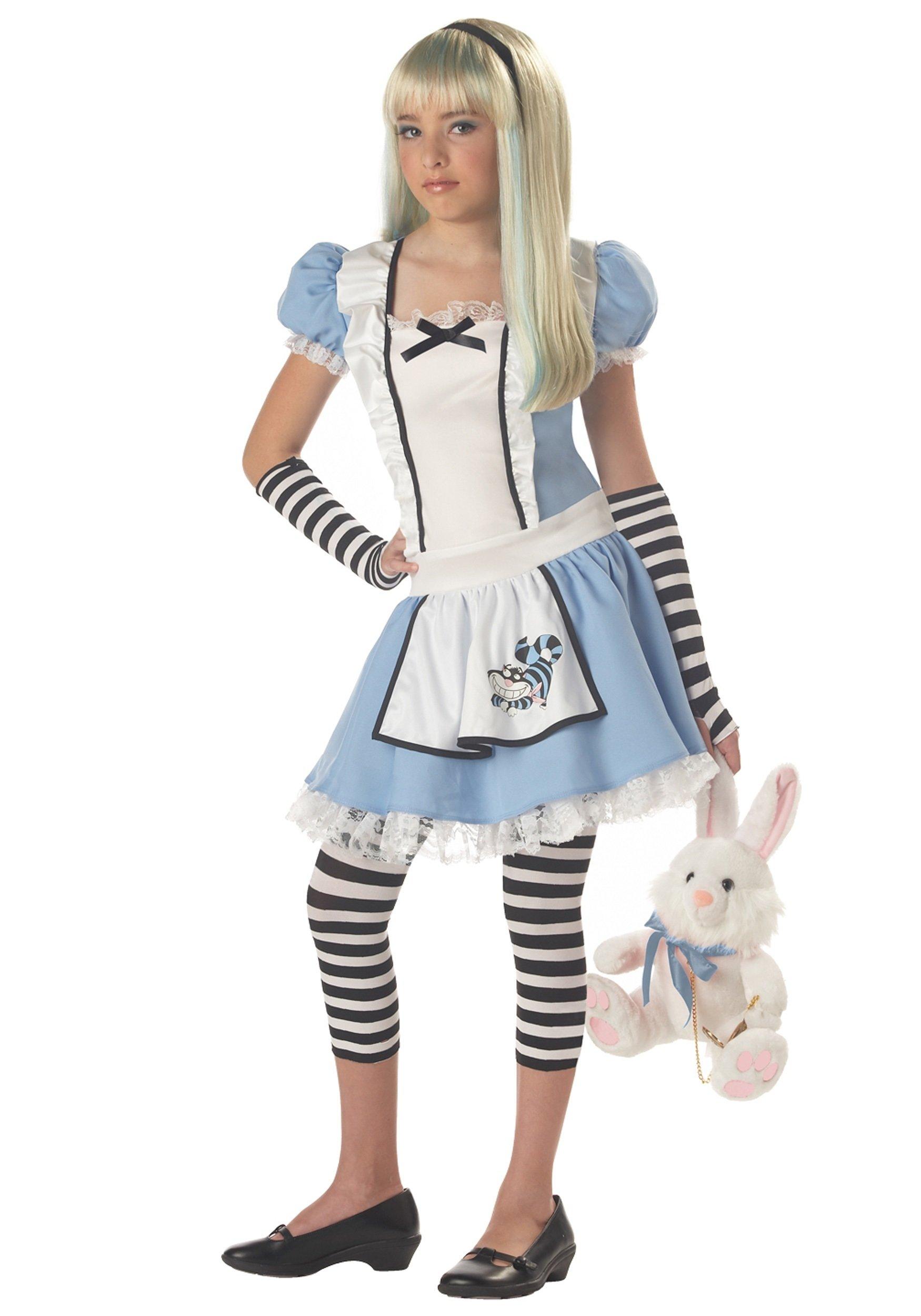 10 Famous Halloween Costume Ideas Teenage Girl tween alice costume 2020