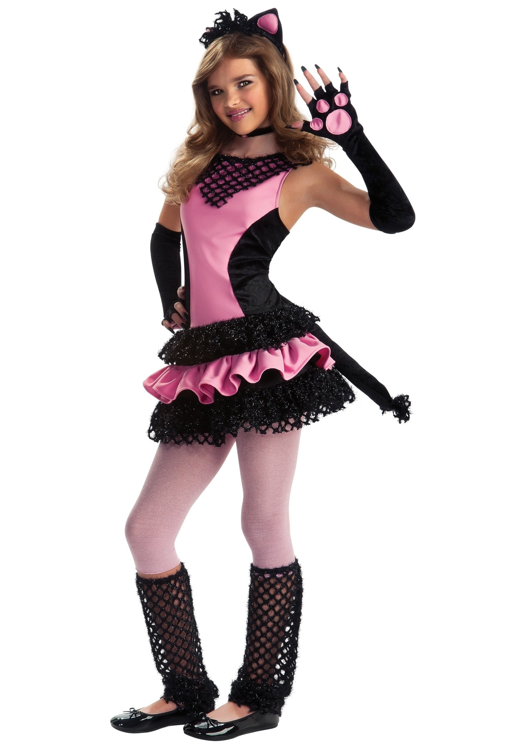 10 Amazing Halloween Costume Ideas Teenage Girls tween black kitty costume halloween costume ideas 2016 1