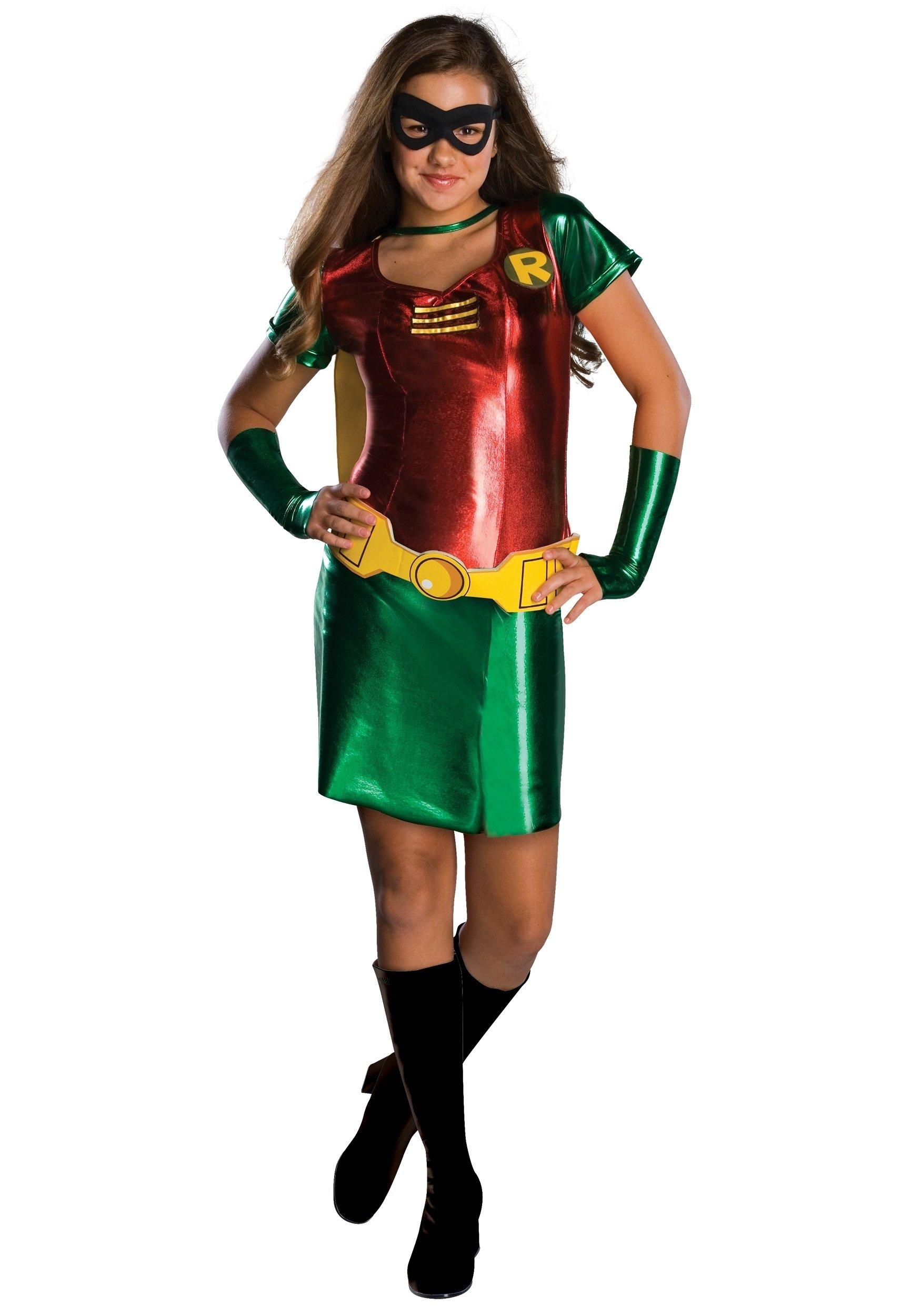 10 Stylish Superhero Costume Ideas For Women tween girls robin costume 1 2020