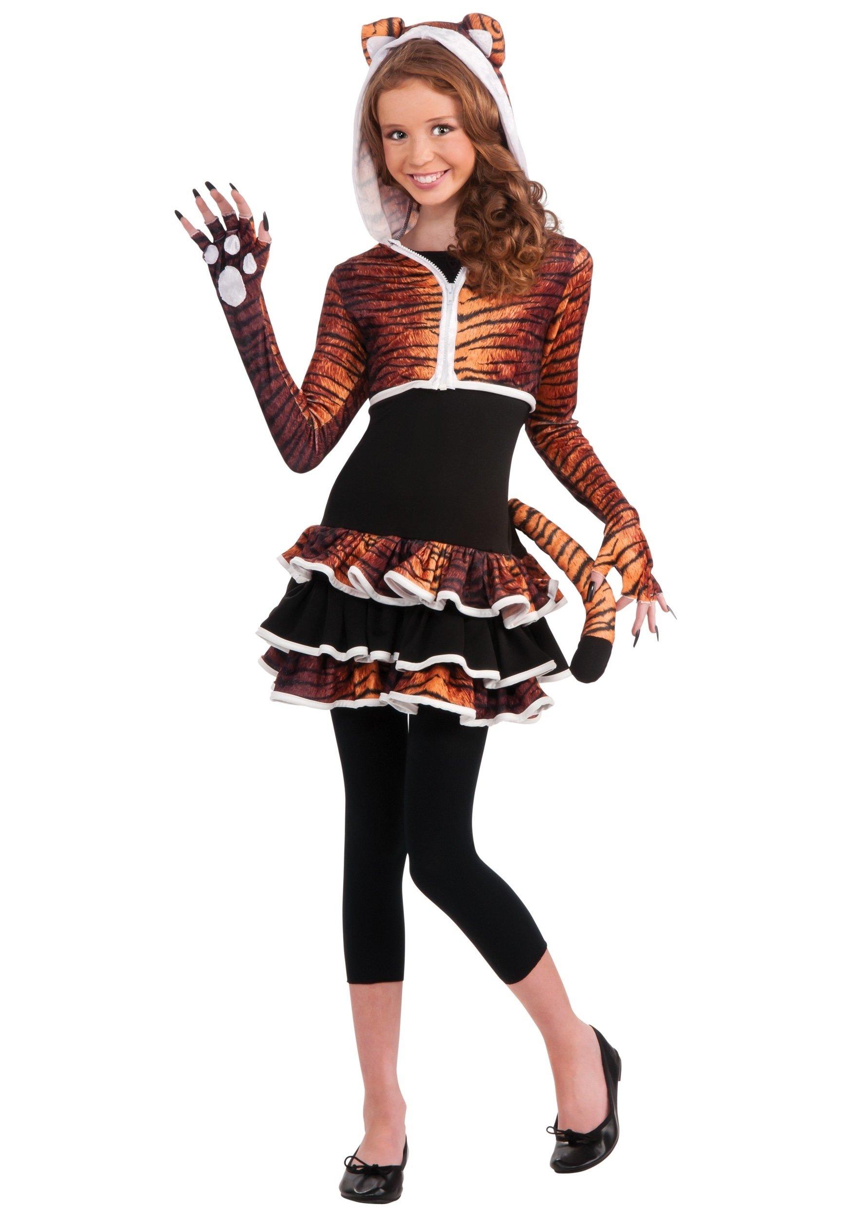 10 Unique Tween Girl Halloween Costume Ideas tween girls tigress costume girls cute tiger costume ideas 1 2020