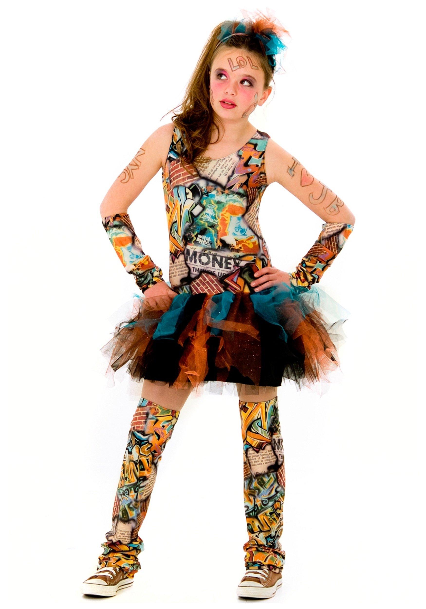 10 Unique Tween Girl Halloween Costume Ideas tween graffiti girl costume unique and colorful teen costumes  sc 1 st  Unique Ideas 2018 & 10 Unique Tween Girl Halloween Costume Ideas