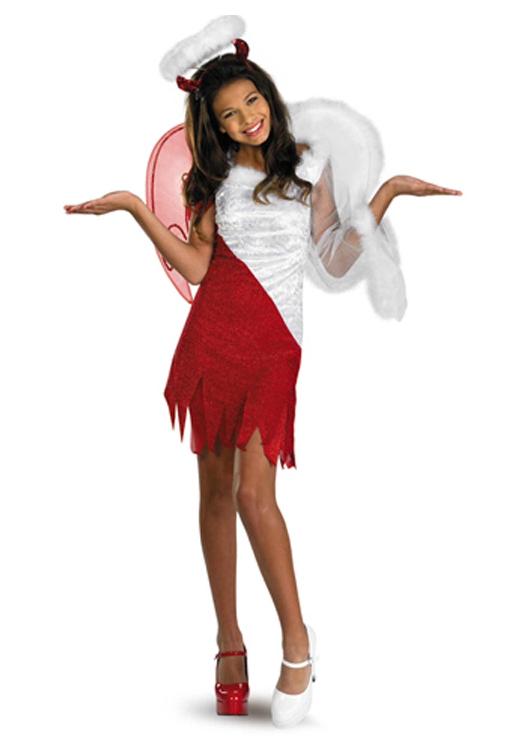 10 Unique Tween Girl Halloween Costume Ideas tween heavenly devil costume 2 2020