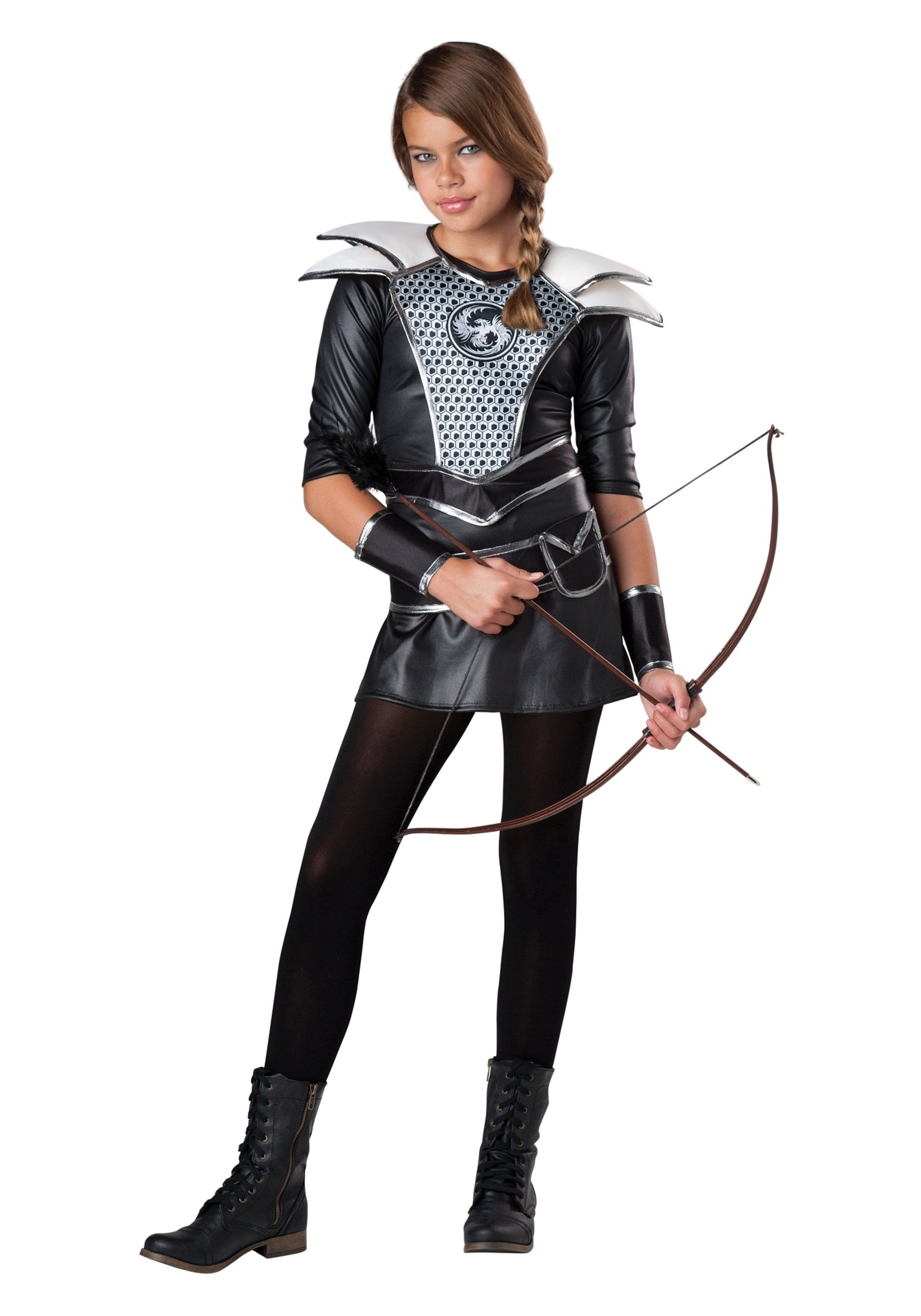 10 Amazing Halloween Costume Ideas Teenage Girls tween midnight huntress costume 4