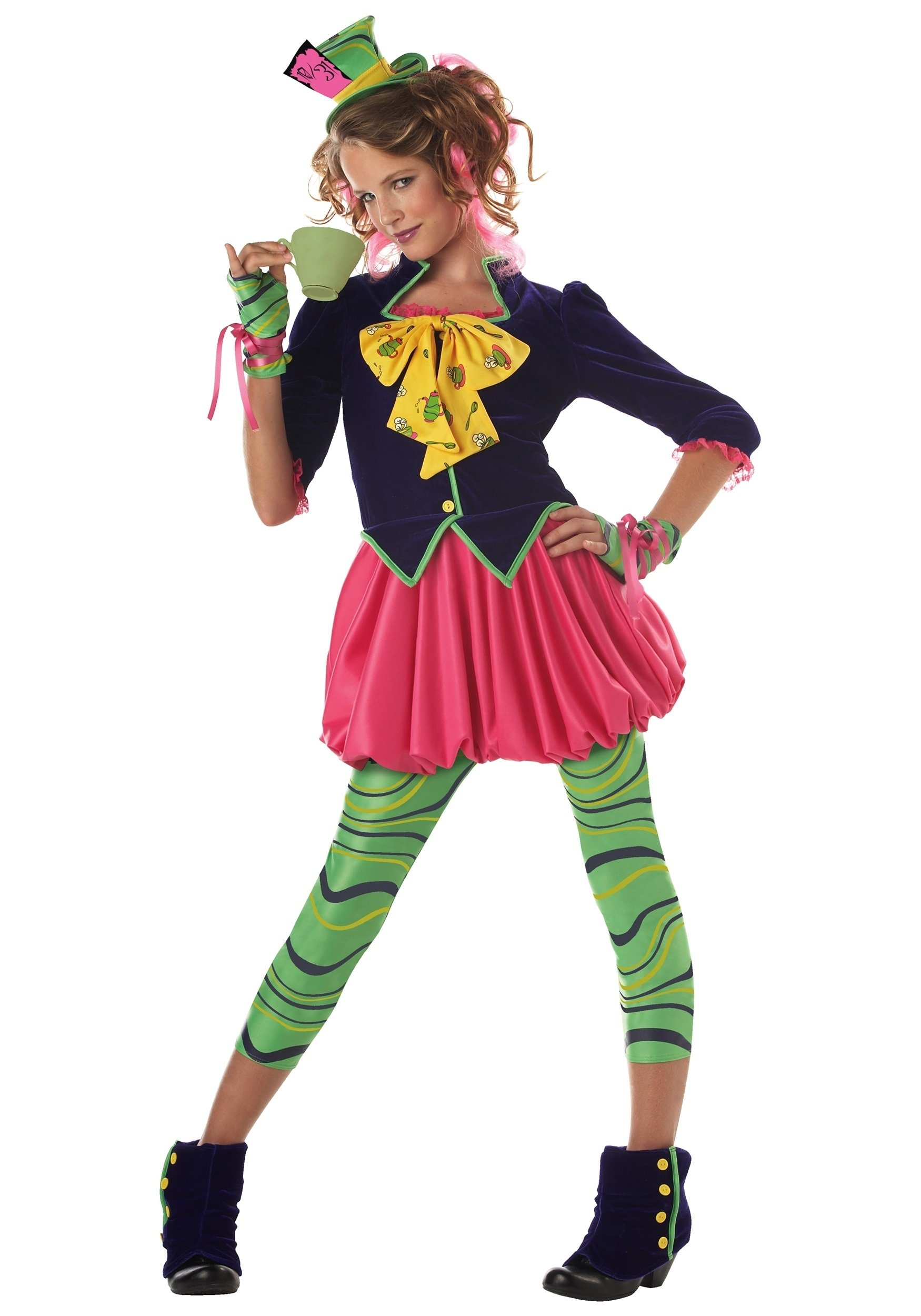 10 Perfect Female Mad Hatter Costume Ideas tween miss mad hatter costume 2020