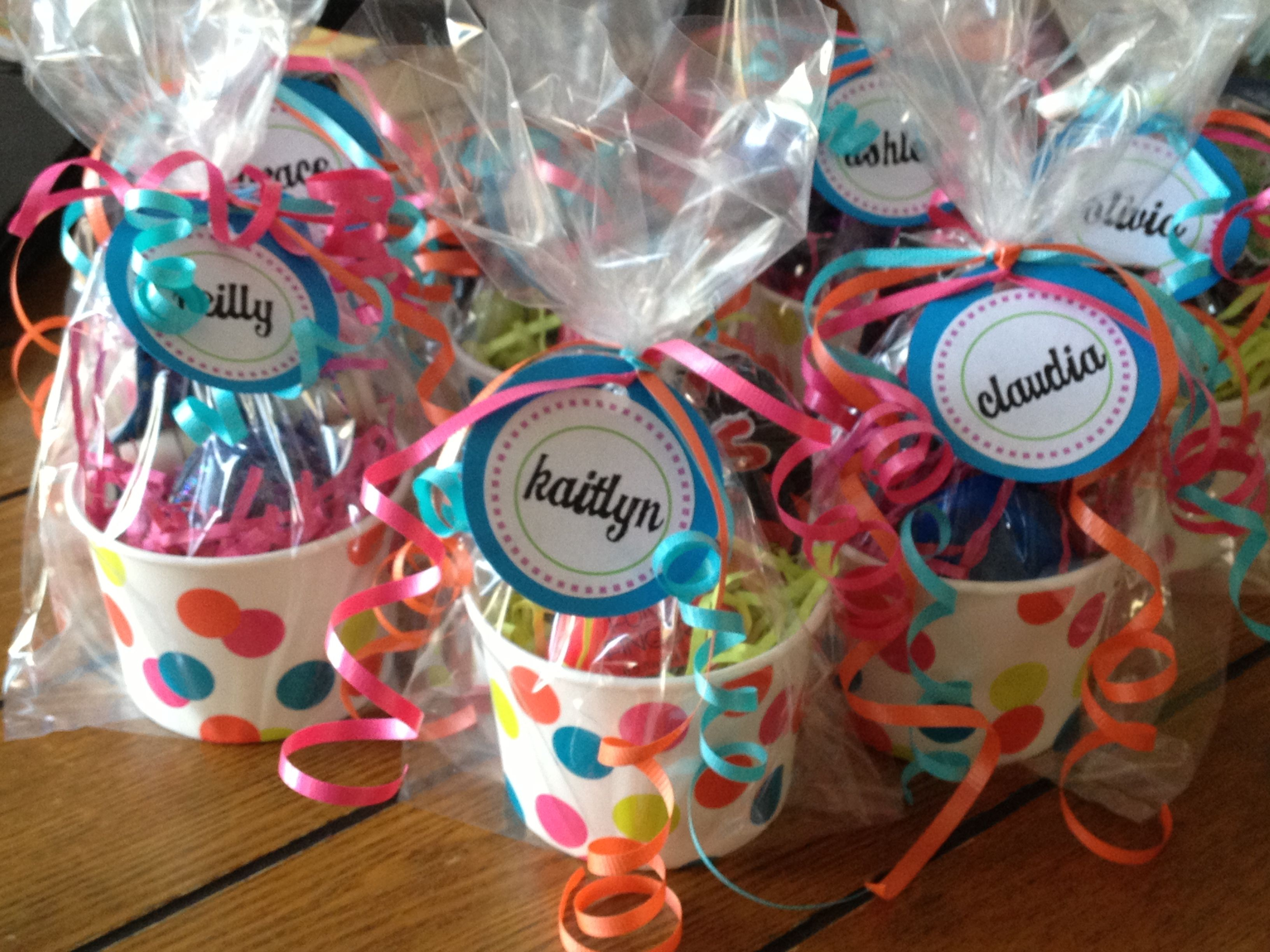 10 Lovely Goody Bag Ideas For Girls tween party favors parties 13th birthday party ideas for girls 2020