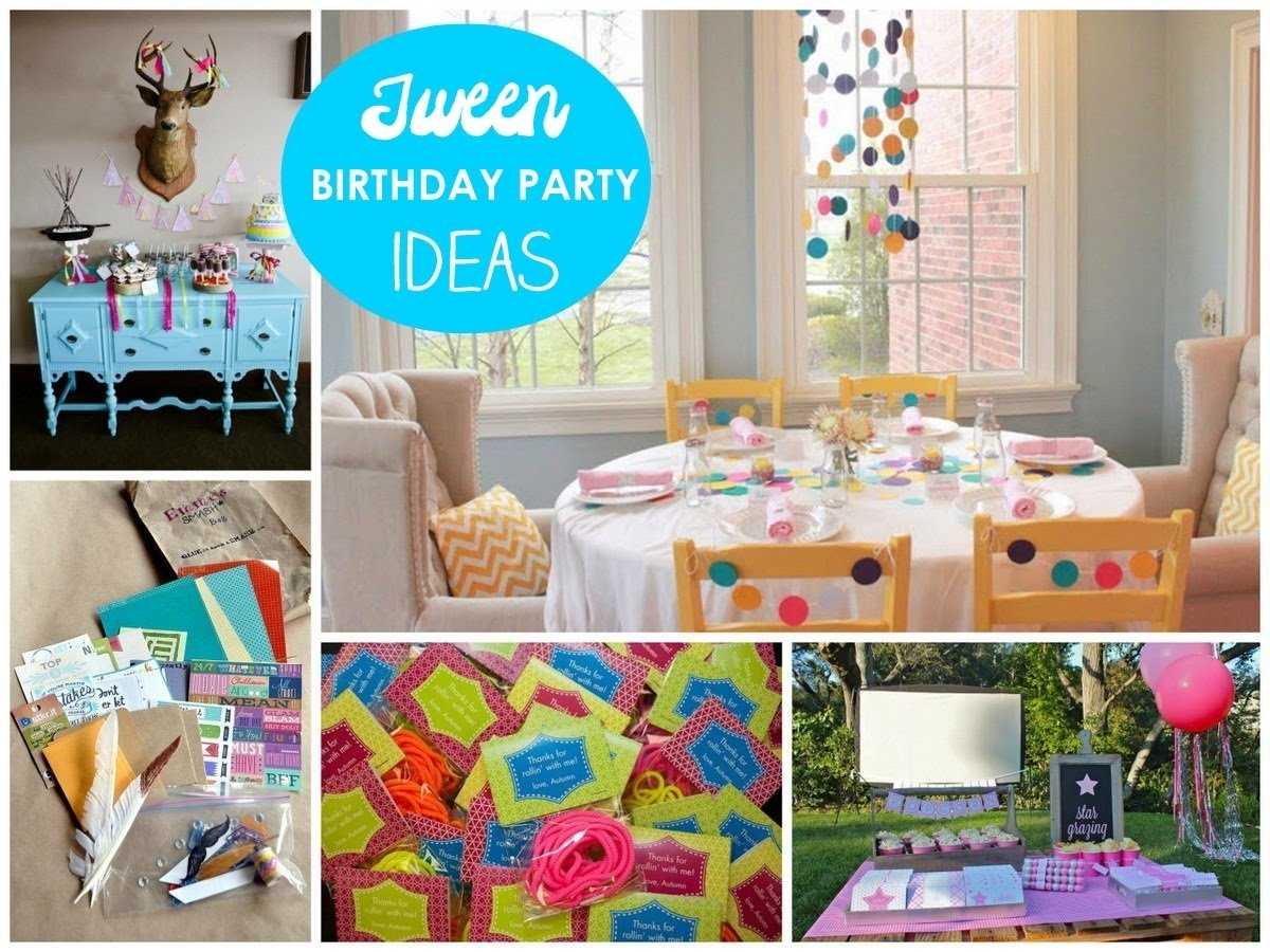 10 Most Popular Slumber Party Ideas For Tweens tween party ideas great party ideas for tween girls mirabelle 1