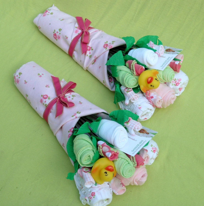 10 Gorgeous Pinterest Baby Shower Gift Ideas twingirlgiftbouquetsuniquebabyshowergiftbybabyblossomco 2