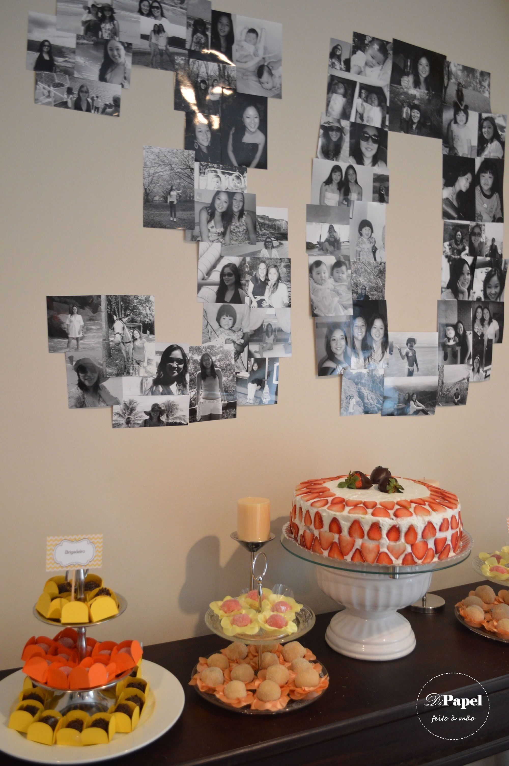 10 Most Recommended Surprise 30Th Birthday Party Ideas twins 30th birthday party always love a photo number collage 2