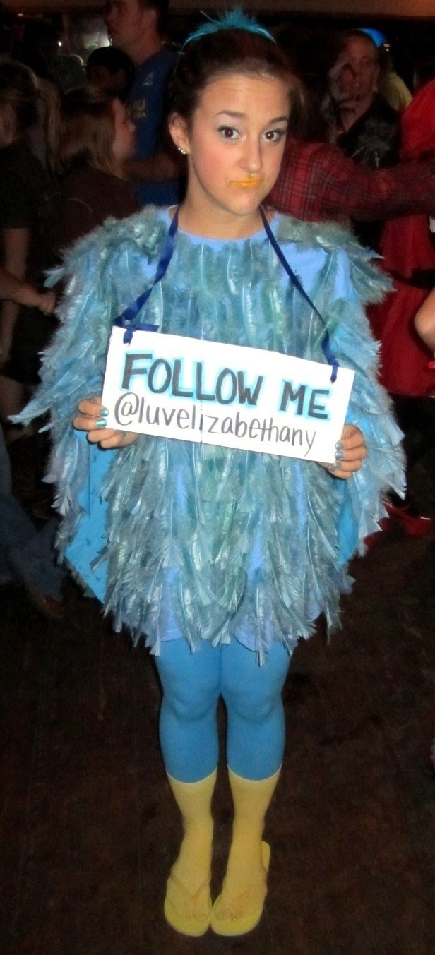 10 Stylish Creative Costume Ideas For Girls twitter bird halloween costume halloween costumes costumes and 6 2021
