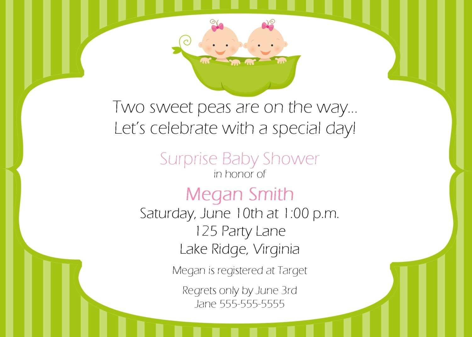 10 Most Recommended Two Peas In A Pod Baby Shower Ideas two peas in a pod baby shower theme ideas for twin free printable 2020